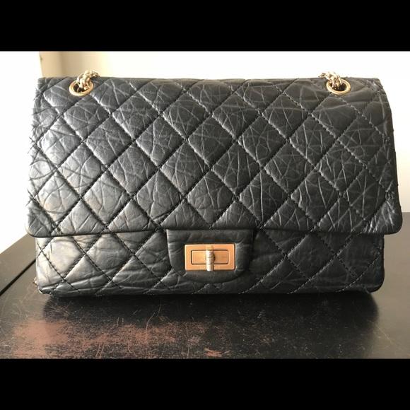 32ce1716ed7b95 CHANEL Handbags - Chanel Black Distressed Lambskin Reissue 226